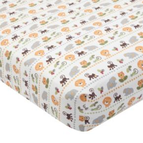 Lambs & Ivy Treetop Buddies Crib Sheet