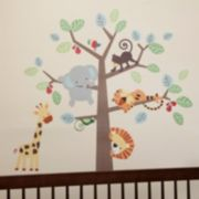 Lambs & Ivy Treetop Buddies Wall Decals