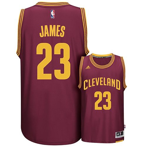 uk availability 31eef 98999 Men's adidas Cleveland Cavaliers LeBron James Swingman NBA ...