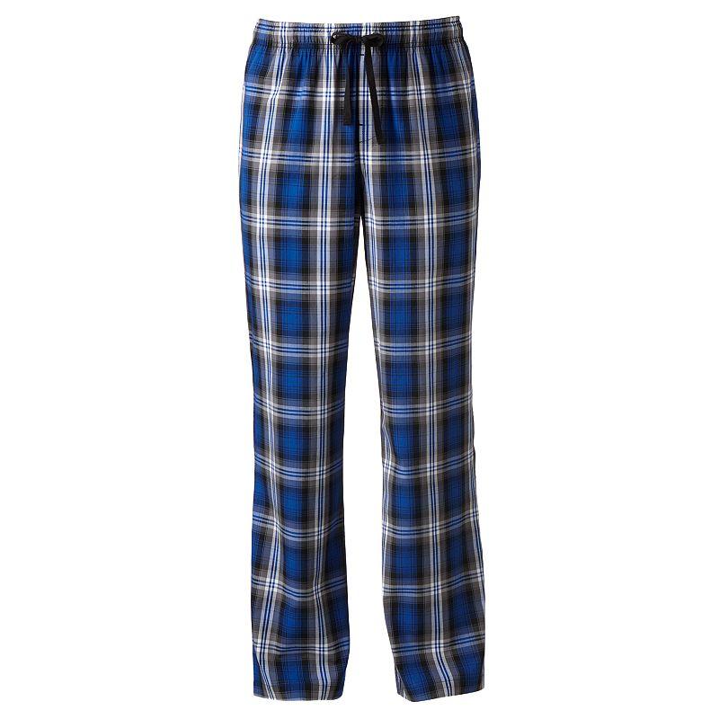 Apt. 9® Plaid Woven Lounge Pants - Big & Tall