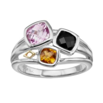 Gemstone Sterling Silver Ring
