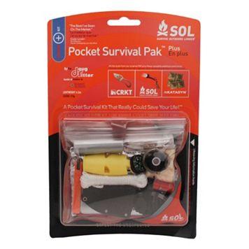 SOL Pocket Survival Pak Plus