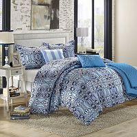 Lynwood 6 pc Luxury Reversible Comforter & Quilt Set