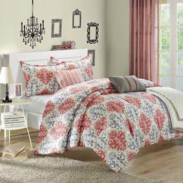 Venetian 6-pc. Luxury Reversible Comforter & Quilt Set
