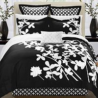 Iris 7 pc Reversible Comforter Set
