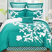 Iris 7-pc. Reversible Comforter Set
