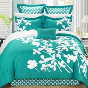 Iris 7-pc. Reversible Comforter Set