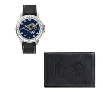 St. Louis Rams Watch & Trifold Wallet Gift Set