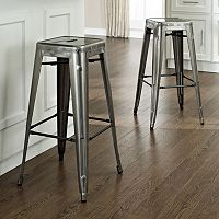 Crosley Furniture 2-piece Amelia Cafe Bar Stool Set
