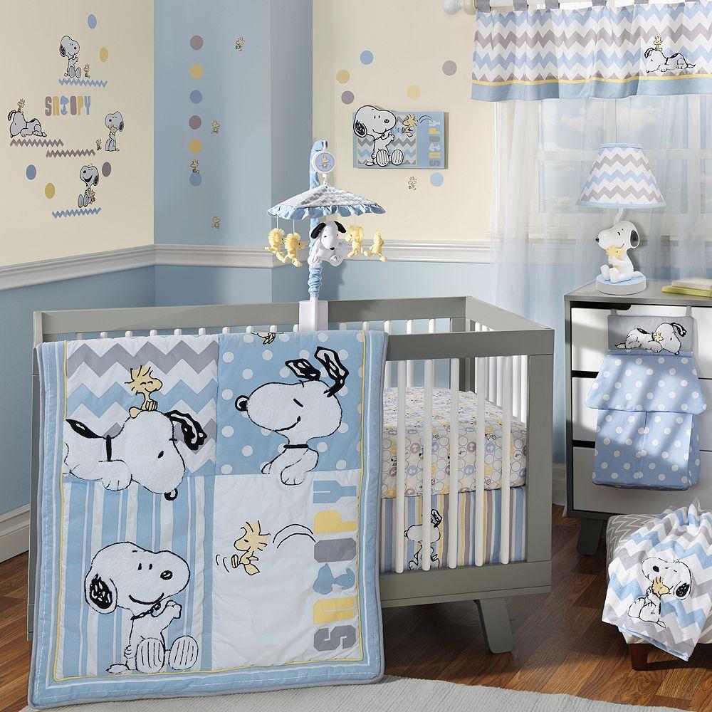 f364639b4b98 Peanuts My Little Snoopy 4-pc. Crib Bedding Set by Lambs   Ivy
