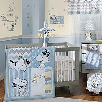 Peanuts My Little Snoopy 4 pc Crib Bedding Set by Lambs & Ivy