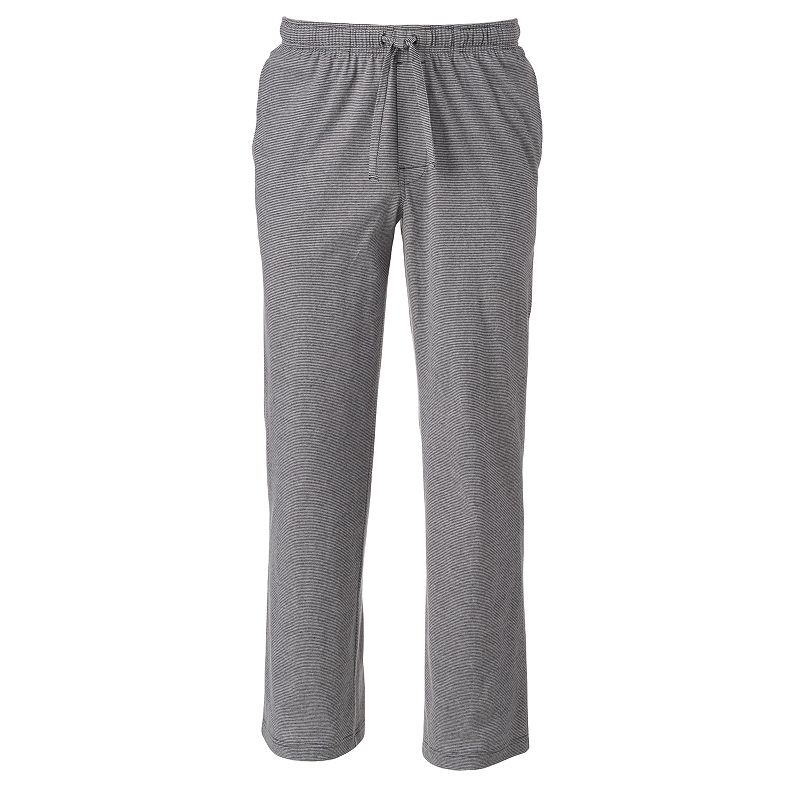 Apt. 9® Modern-Fit Striped Lounge Pants - Big & Tall