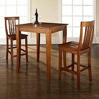 Crosley Furniture 3-piece Cabriole Dining Set