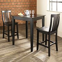 Crosley Furniture 3 pc Tapered Leg Dining Set