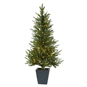 pre lit berries artificial christmas tree sale