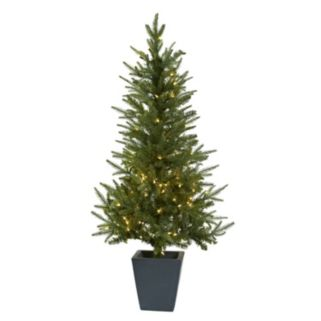 nearly natural 4.5-ft. Pre-Lit Artificial Christmas Tree