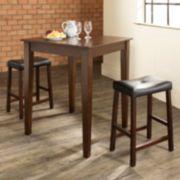 Crosley Furniture 3-piece Tapered Leg Dining Set