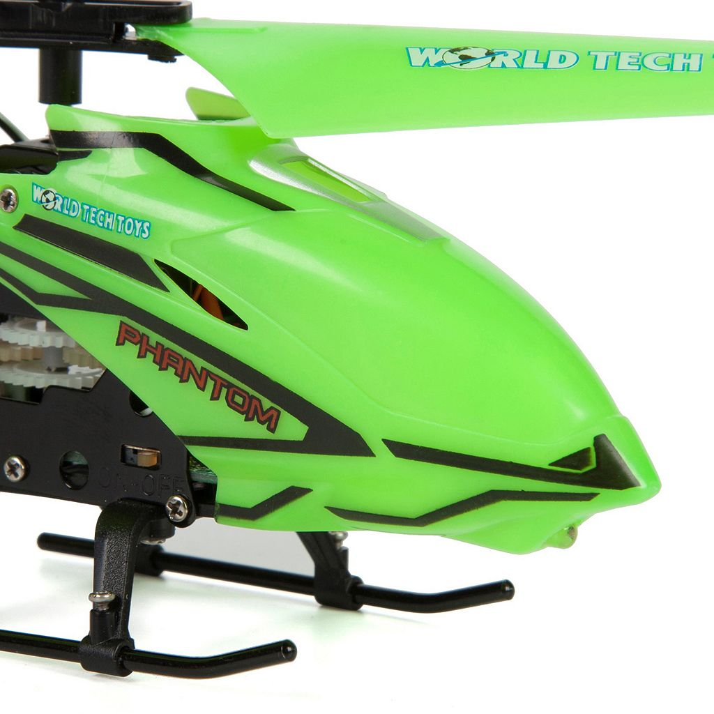 World Tech Toys Glow-in-the-Dark Phantom 3.5ch IR Helicopter