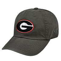 Adult Top Of The World Georgia Bulldogs Crew Baseball Cap