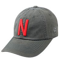 Adult Top Of The World Nebraska Cornhuskers Crew Baseball Cap