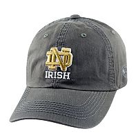 Adult Top Of The World Notre Dame Fighting Irish Crew Baseball Cap