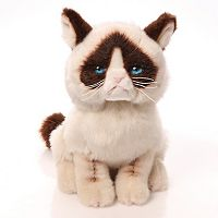Grumpy Cat Plush Toy by GUND