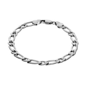 Steel City Stainless Steel Oval Link Bracelet