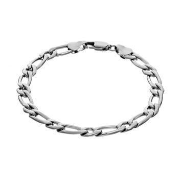 Steel City Stainless Steel Oval Link Bracelet