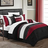 Carlton 10 pc Reversible Bed Set