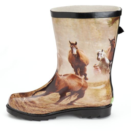 Itasca Spring Lake Misty Pony Girls' Rain Boots
