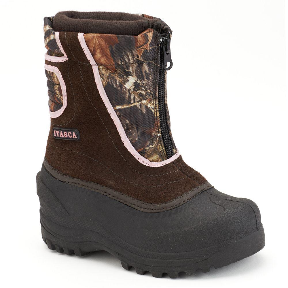 Itasca Snow Stomper Girls' Waterproof Winter Boots