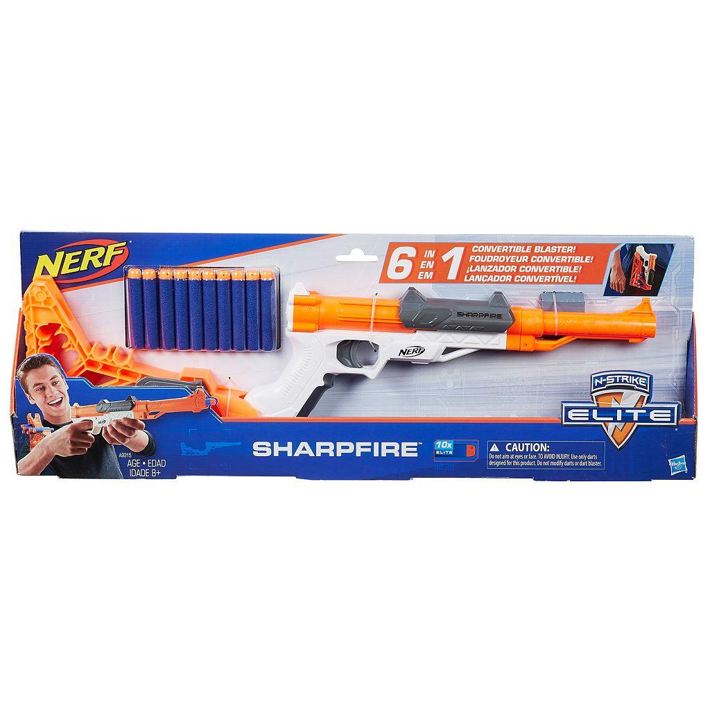 Nerf N-Strike SharpFire Blaster by Hasbro