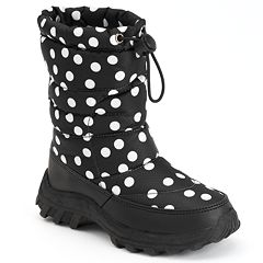 Itasca Snow Scamp Girls' Waterproof Winter Boots
