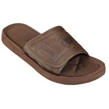 Adult Kansas Jayhawks Memory Foam Slide Sandals