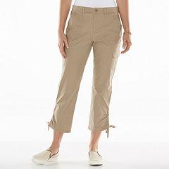 Gloria Vanderbilt Zoey Cargo Crop Pants - Women's
