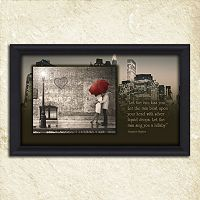 ''Street Scene'' Framed Wall Art
