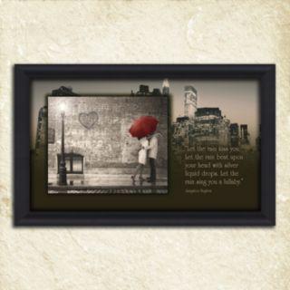 ''Street Scene'' Framed Wall Art