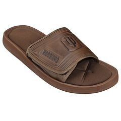 Adult Indiana Hoosiers Memory Foam Slide Sandals