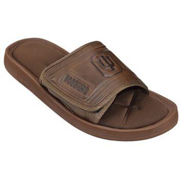 Adult Indiana Hoosiers Memory Foam Slide Sandals