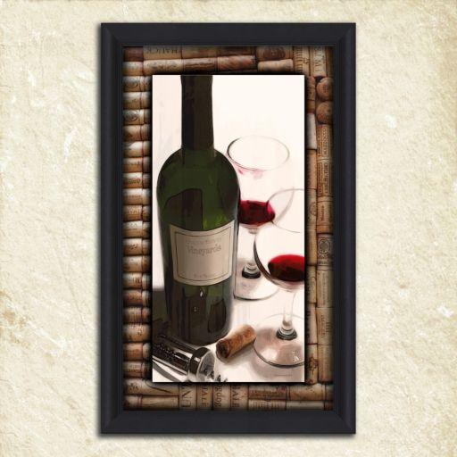 ''Drinks for Two'' Framed Wall Art