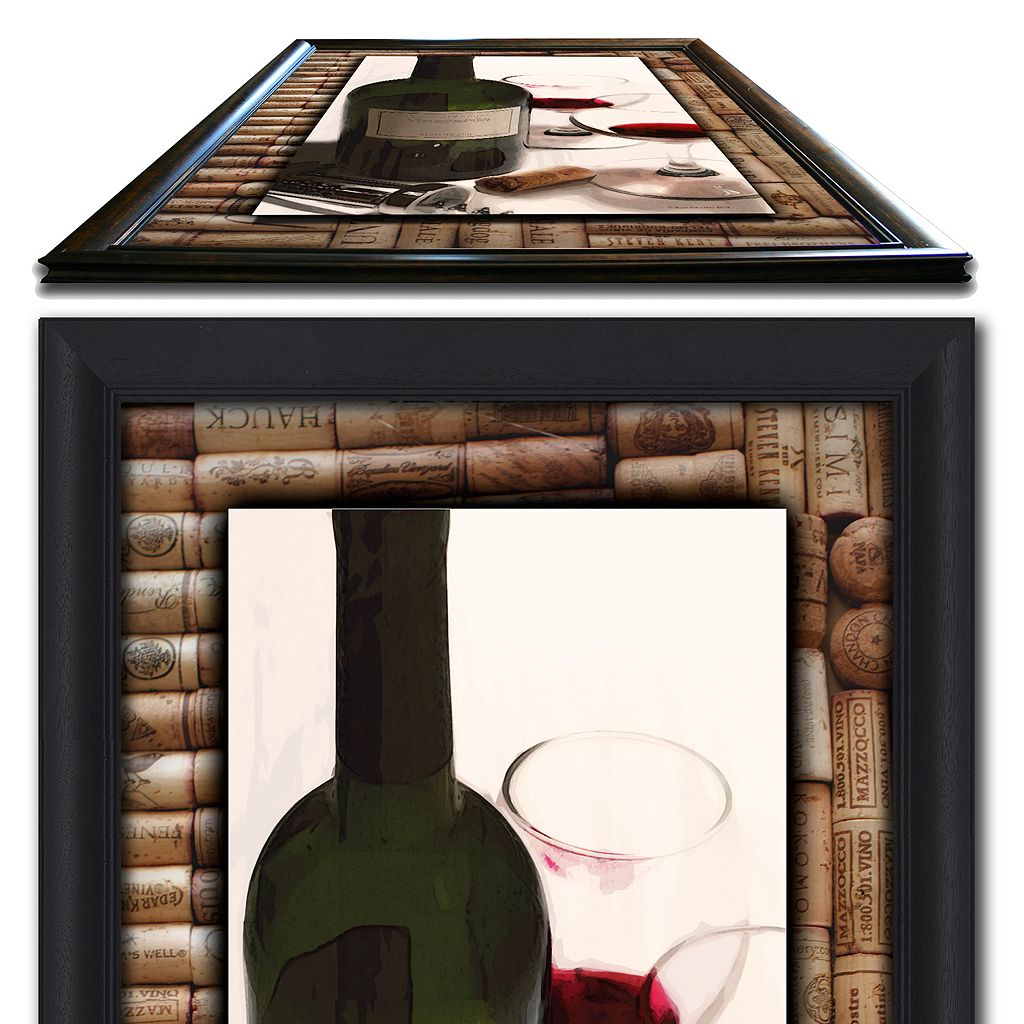 ''Drinks for Two'' Framed Wall Art