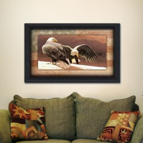 ''Cliff Dwellers'' Framed Wall Art