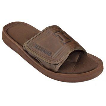 Adult Illinois Fighting Illini Memory Foam Slide Sandals