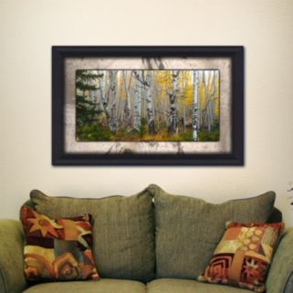 ''Aspen Grove'' Framed Wall Art