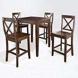 Crosley Furniture 5-piece Tapered Leg Dining Set