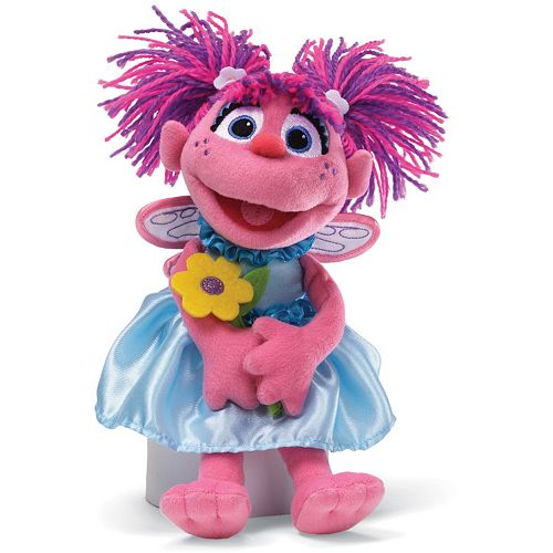 Sesame Street Abby Cadabby Flowers Plush Toy By Babygund