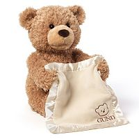 Baby Gund Peek-a-Boo Bear Plush Toy