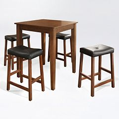 Crosley Furniture 5-piece Stool Dining Set