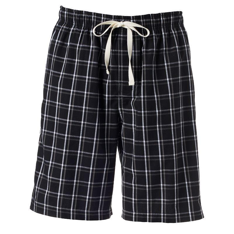 Croft & Barrow® Plaid Woven Jams Shorts - Big & Tall