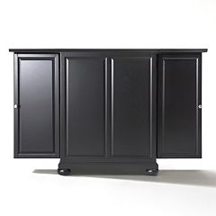 Crosley Furniture Alexandria Expandable Bar Cabinet